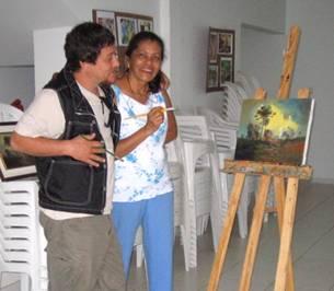 Você está navegando a partir de imagens do artigo: Artista com amigos e convidados
