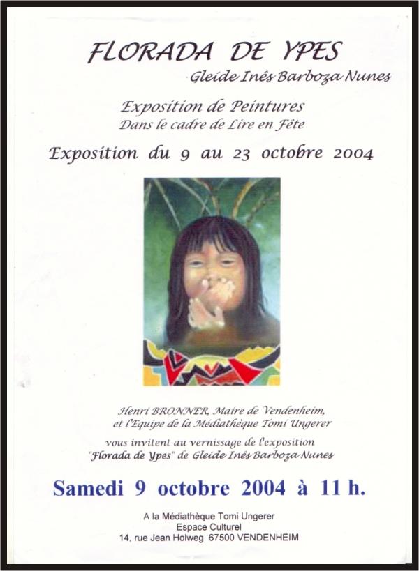 Você está navegando a partir de imagens do artigo: Gleide Expõe na França